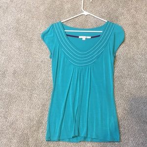 Boden Top with embroidery, size 6 US
